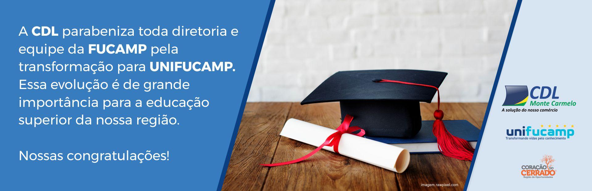 Congratulações Fucamp